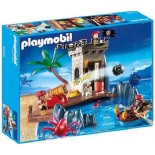 PLAYMOBIL PIRATES 5622 NASCONDIGLIO DEI PIRATI CON CANNONE E TORRE DI GUARDIA