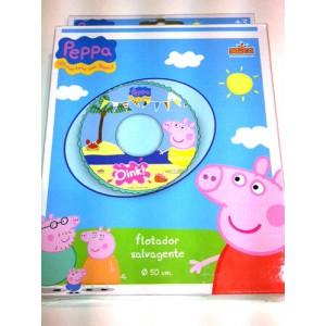Peppa pig salvagente anello mare piscina enne store - Peppa pig piscina ...