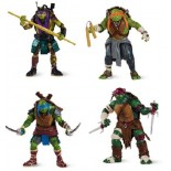 SET 4 TARTARUGHE NINJA MOVIE DONATELLO RAFFAELLO MICHELANGELO LEONARDO
