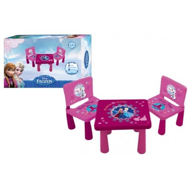 Frozen tavolo tavolino banco scuola con 2 sedie disney - Tavolo con sedie frozen ...
