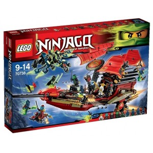 LEGO NINJAGO 70738 IL VOLO FINALE DEL VASCELLO DEL DESTINO