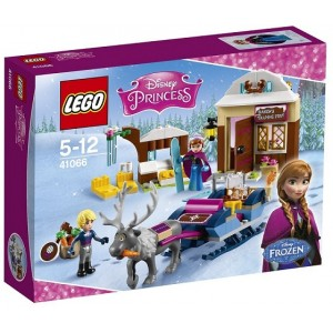 LEGO DISNEY PRINCESS 41066 L'AVVENTURA SULLA SLITTA DI ANNA E KRISTOFF