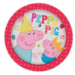 PEPPA PIG PIATTI 20 CM NEW FESTA COMPLEANNO PARTY