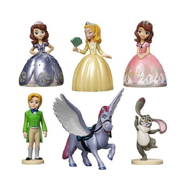 Set 6 Personaggi Disney Sofia La Principessa Pvc Anche
