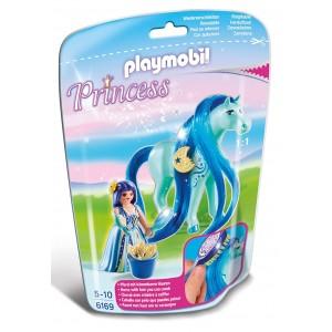 PLAYMOBIL PRINCESS 6169 PRINCIPESSA LUNA CON PONY