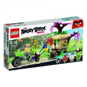 LEGO ANGRY BIRDS 75823 LA RAPINA DELLE UOVA SU BIRD ISLAND