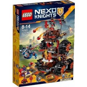 LEGO NEXO KNIGHTS 70321 LA MACCHINA D'ASSEDIO DEL GENERALE MAGMA