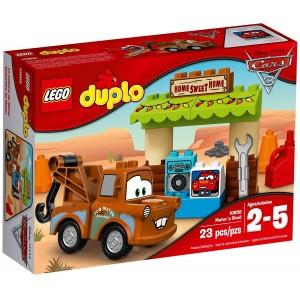 LEGO DUPLO CARS 3 - 10856 CAPANNO DI CRICCHETTO