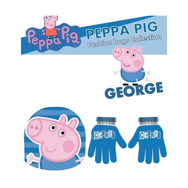 PEPPA PIG CAPPELLO E GUANTI GEORGE - Enne Store b53097bfd373