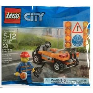 LEGO CITY 30357 LAVORATORE STRADA