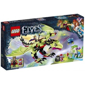 LEGO ELVES 41183 IL DRAGO MALVAGIO DEL RE GOBLIN