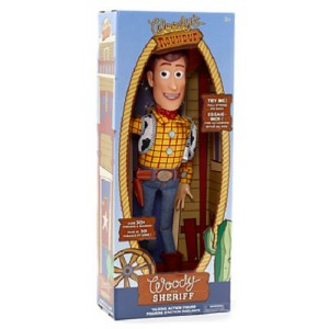 PERSONAGGIO SNODABILE PARLANTE WOODY TOY STORY DISNEY - NEW