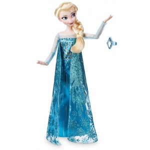 DISNEY FROZEN ELSA CON ANELLO - BAMBOLA SNODABILE ORIGINALE DISNEY