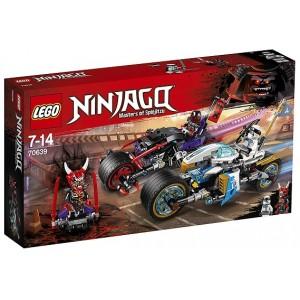 LEGO NINJAGO 70639 GARA SU STRADA DEL GIAGUARO-SERPENTE