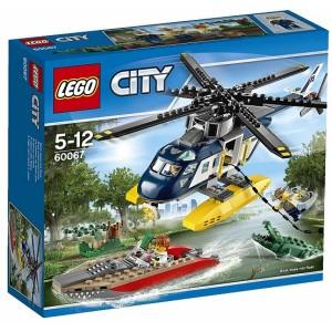 LEGO CITY 60067 INSEGUIMENTO SULL'ELICOTTERO