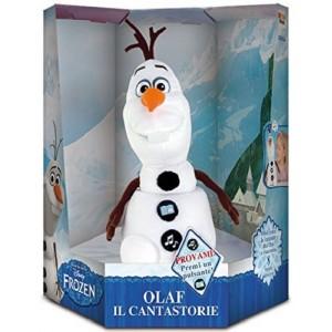 PELUCHE INTERATTIVO OLAF IL CANTASTORIE DISNEY FROZEN - LINGUA ITALIANA