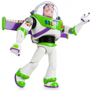 PERSONAGGIO SNODABILE PARLANTE BUZZ LIGHTYEAR TOY STORY DISNEY NEW