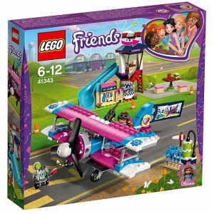 LEGO FRIENDS 41343 TOUR IN AEREO AD HEARTLAKE CITY
