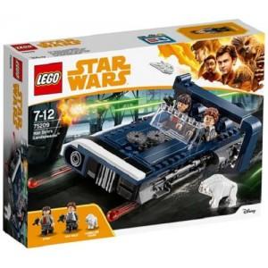 LEGO STAR WARS 75209 IL LANDSPEEDER DI HAN SOLO