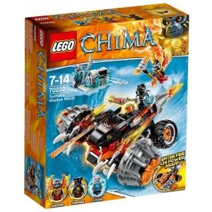 LEGO CHIMA 70222 LA MOTO OMBRA DI TORMAK