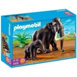 PLAYMOBIL 5105 MAMMUT CON CUCCIOLO