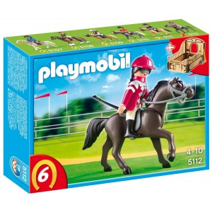 PLAYMOBIL 5112 CAVALLO ARABO CON BOX