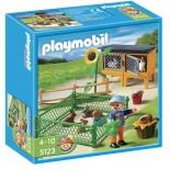 PLAYMOBIL 5123 RECINTO DEI CONIGLI