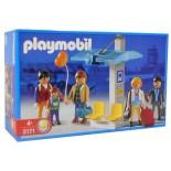 PLAYMOBIL 3171 FERMATA DEL BUS IN AEROPORTO