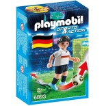 PLAYMOBIL 6893 CALCIATORE DI CALCIO GERMANIA