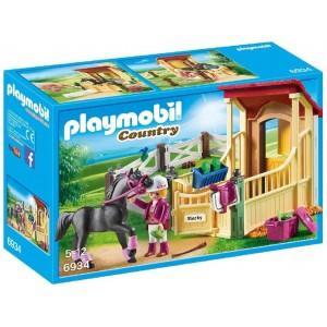 PLAYMOBIL 6934 STALLA CON CAVALLO ARABO