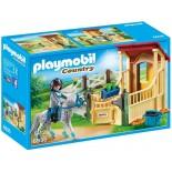 PLAYMOBIL 6935 STALLA CON CAVALLO APPALOOSA