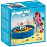 PLAYMOBIL CITY LIFE 5572 VASCA CON PALLINE COLORATE
