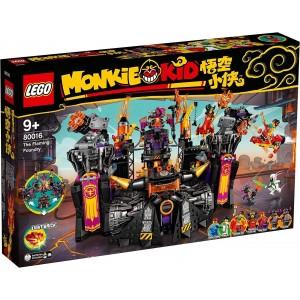 LEGO MONKIE KID 80016 LA FONDERIA DEL FUOCO