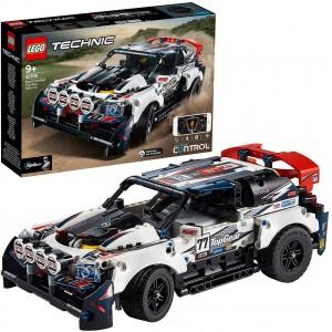 LEGO TECHNIC 42109 AUTO DA RALLY TOP GEAR TELECOMANDATA